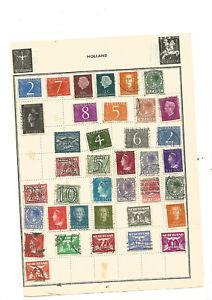 TOP NEWS .beau lot de vieux timbres PAYS SCANDINAVE . .5 SCANS .++++++