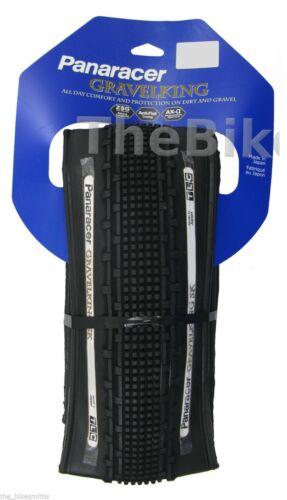 1or 2Pak Panaracer GravelKing SK 700x 38// 43c TLC Tubeless Bike Tire Gravel King