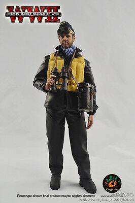Kings Toys German U-Boat Seaman 1/6 Action Figure