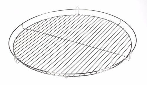 Grillrost 70 cm Reling verchromt Schwenkgrill Dreibein Schwenker