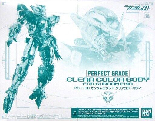 Bandai grado 1 60 Color Claro Cuerpo perfecto para nuevo Kit Modelo Gundam Exia plástico de Japón