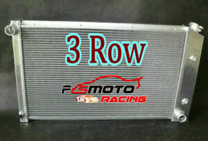 3 Row Aluminum Radiator for Pontiac Firebird Trans Am 1970-1981 76 77 78 79 Auto