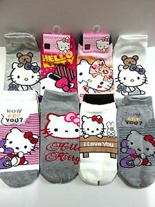 99413c698 Made In Korea Character Socks Hollo Kitty Multi Color Socks 1 Pair ...
