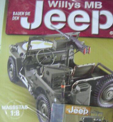 OVP Bauen Sie den Willys MB Jeep Teil 15 NEU