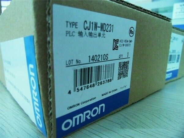 One Omron PLC CJ1W-MD231 CJ1WMD231 New In Box