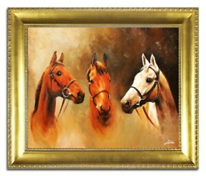 Oil-Painting-Pictures-Hand-Painted-with-Frame-Baroque-Art-G04440