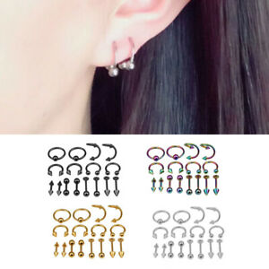 8-Pairs-Bulk-lots-Body-Piercing-Eyebrow-Jewelry-Belly-Tongue-Bar-Ring-Wholesale