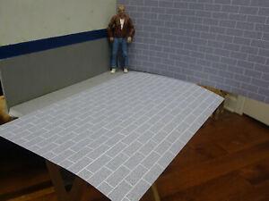 Concrete-Block-Print-Sheets-1-10-Scale-Shop-Garage-Diorama-Crawler-Dollhouse