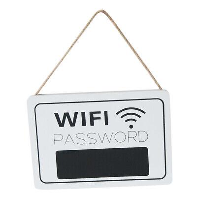 Wall Hanging Decoration Wooden Wifi Password Door Signs Welcome Door Plques