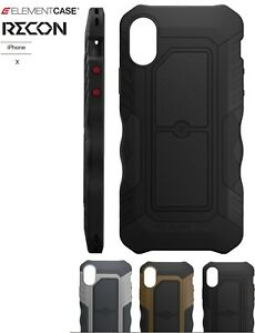 premium selection a659d 0d78f Element Case RECON case for iPhone X/Xs -