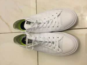 Converse Chuck Taylor All Star II Low Heritage Mesh White Men Shoes 155495C UK 4