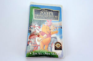 NEW-SEALED-Pooh-039-s-Grand-Adventure-The-Search-for-Christopher-Robin-VHS-1997