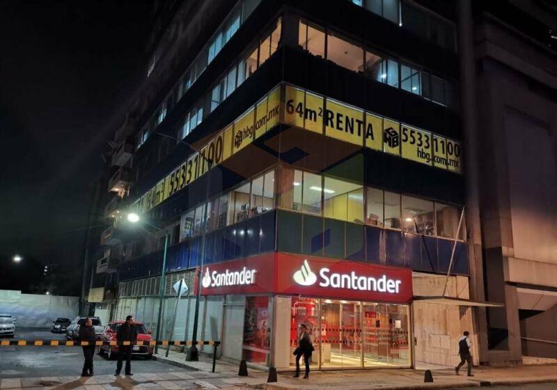 Renta de Oficina, Piso 2, Av. Paseo de la Reforma, CDMX