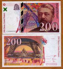 France, 200 francs, 1996, P-159 (159b)  Last pre-Euro, UNC