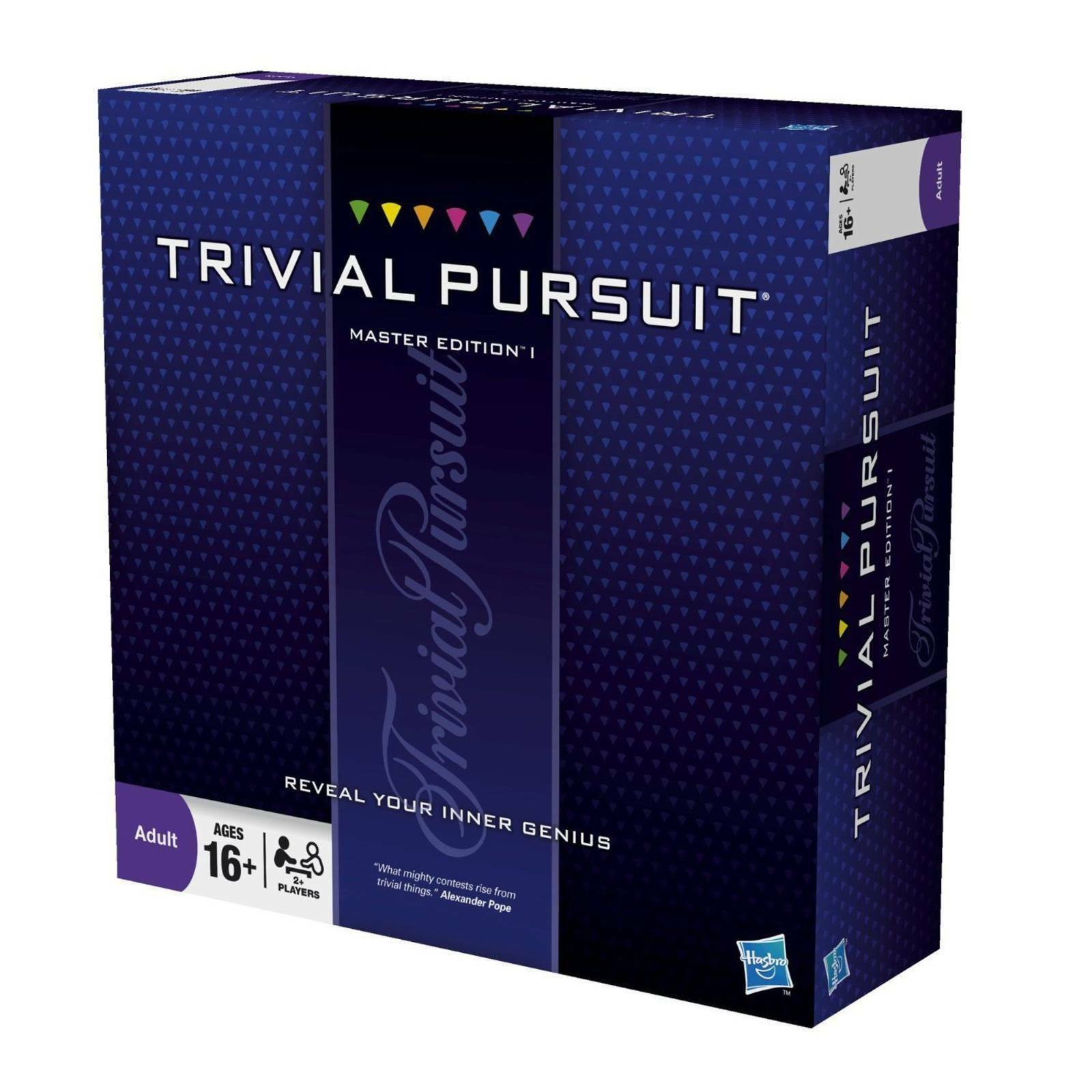 Trivial Pursuit Master Edition von Hasbro