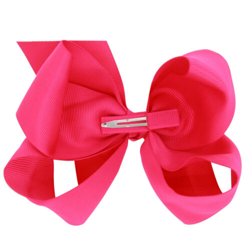 15*8cm Hair Accessory Knot Grosgrain Ribbon Hair Bow With Clip For Girl Baby