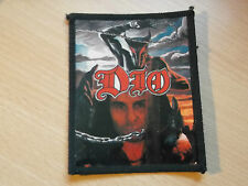 DIO.... Original Vintage Sew On/Photo Card Patch. 80's