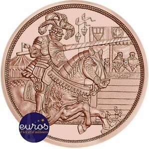 10-euros-commemorative-AUTRICHE-2019-Chevalier-Recits-de-la-Chevalerie-Cuivre