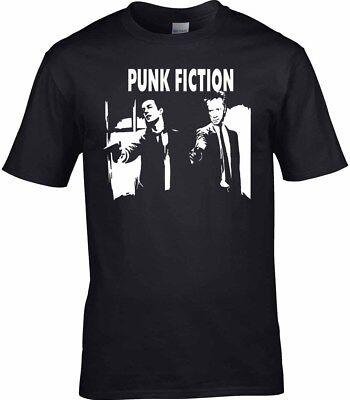 Punk Mens T-Shirt Music Pistols Clash Love Rock Metal Birthday Gift Funny Pop