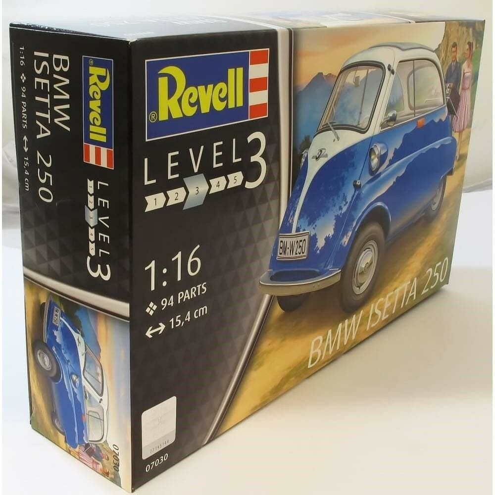 Revell 1 16 07030 BMW Isetta 250 Model Car Kit