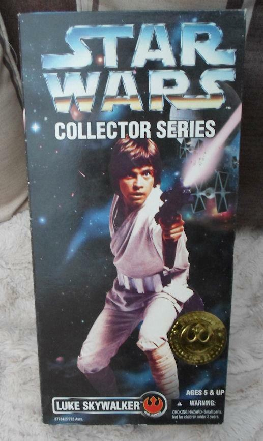 STAR WARS Collection LUKE  New hope  kenner 12  figure 1 6th Boxed Gold label