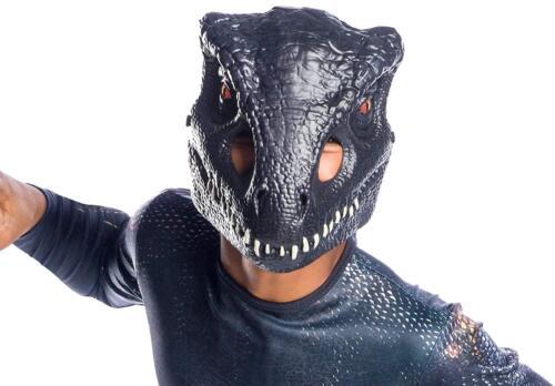 Indoraptor Mask Jurassic World 2 Fancy Dress Halloween Child Costume Accessory