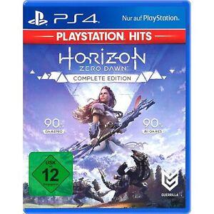 Sony PS4 Horizon Zero Dawn Complete Edition CD Videospiel DISC-Version NEU OVP