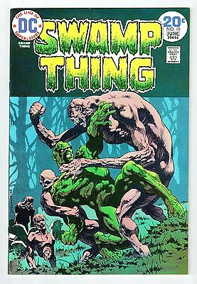 DC Comics SWAMP THING #10 June 1974 vintage comic NM condition