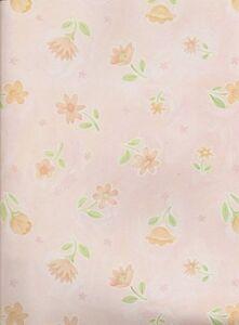 2 Sheets PINK FLOWERS 12 x 12 Scrapbook Paper