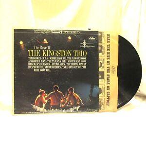 1962-The-Best-Of-The-Kingston-Trio-Vinyl-LP-33-Capitol-ST-1705-Pop