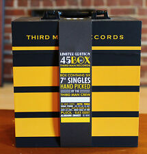 "Jack White Third Man Records 7"" Box Set 45 Limited Edition SEALED Brand New MINT"