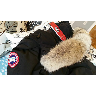 2018 LATEST ARRIVAL CONCEPT EDITION BLACK CANADA GOOSE VICTORIA MM PARKA JACKET