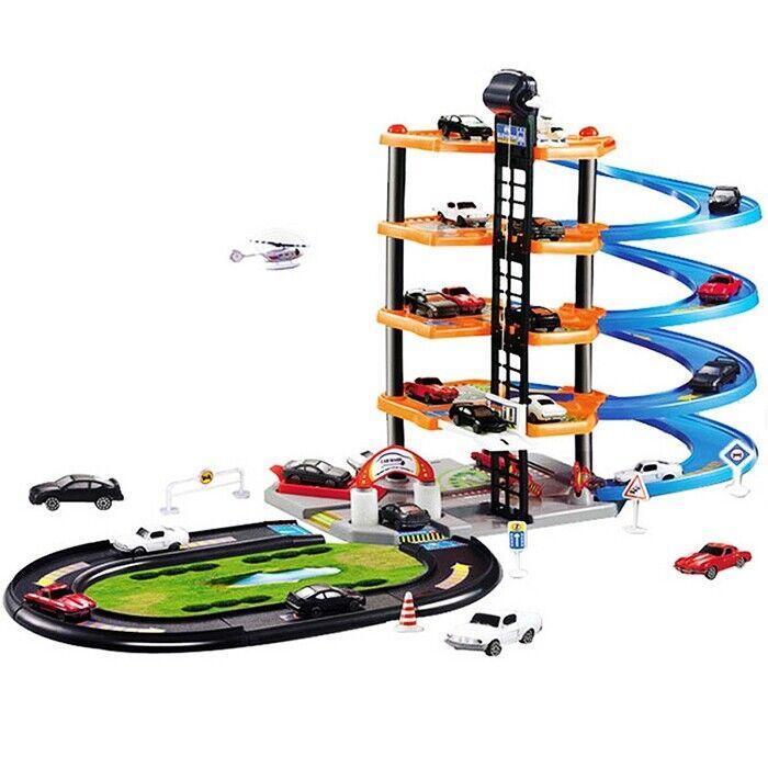 3D Auto Parkplatz DIY Modell Montage Spielzeug für Kinder