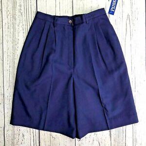 Pendleton-Womens-Blue-Size-10-Walking-Shorts-1539