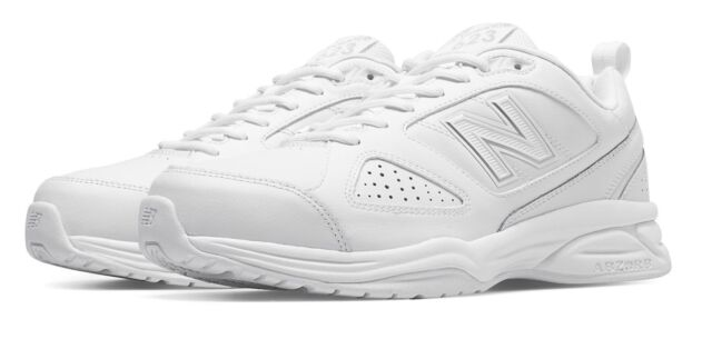 6f130cda5fa91 New Balance Male Men's 623V3 Trainer Adult Quix Technology Internal Shank  White