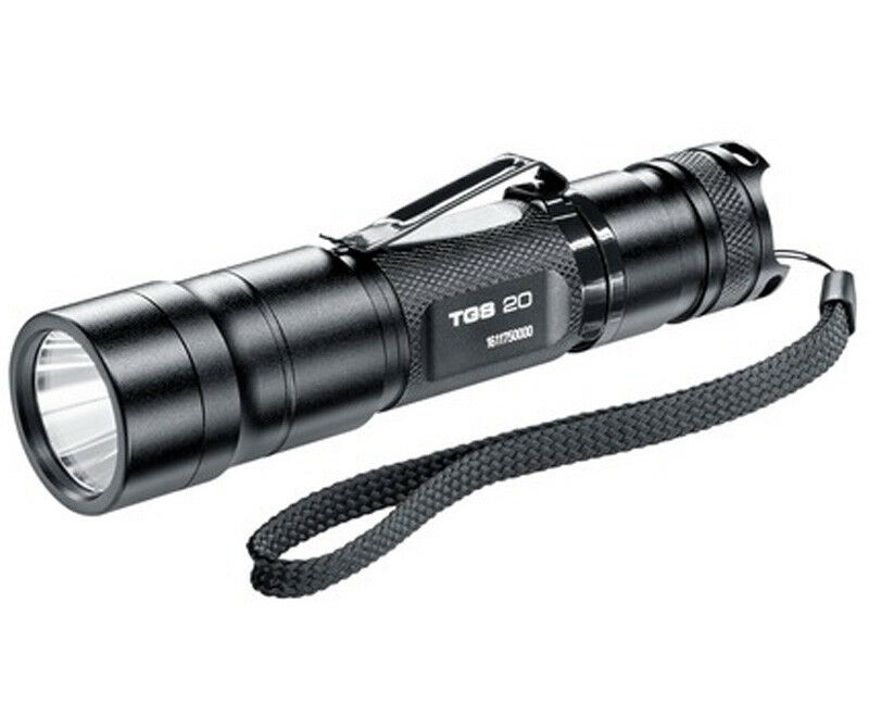 Walther LED Taschenlampe 3.7107 TGS20 305 Lumen Tactical Guard Series + 2x CR123