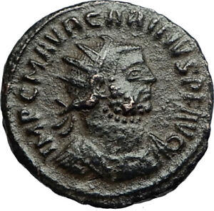 CARINUS-w-Carus-on-Authentic-Ancient-283AD-Genuine-Roman-Coin-of-Antioch-i67234
