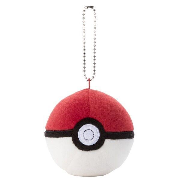 Pokemon - Mocchi Mocchi Style Poke Ball Plush Mascot Ballchain