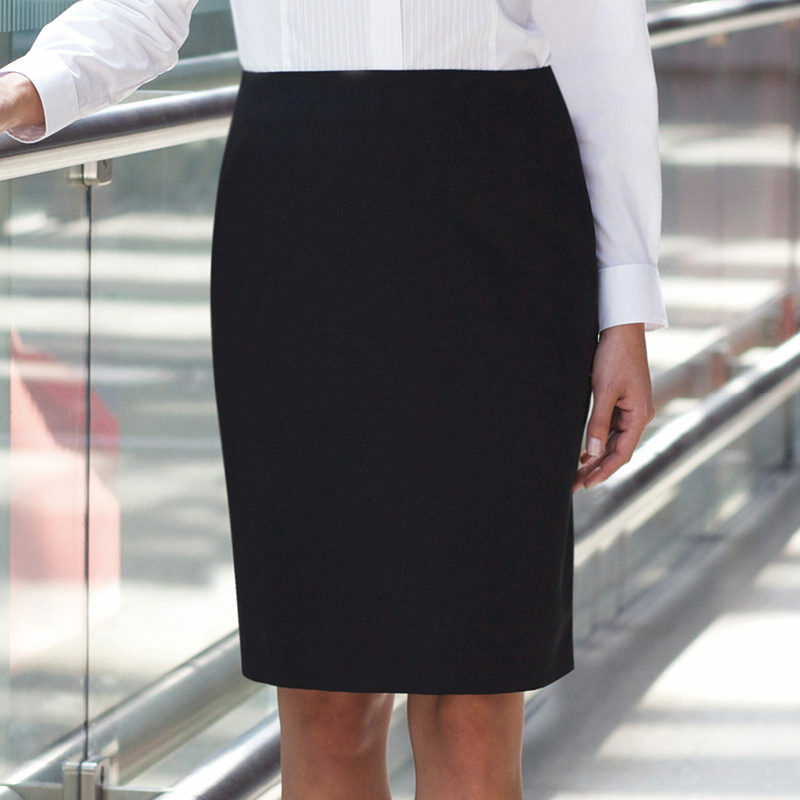 Brook Taverner Women's Straight Fully Lined Smart Business Pencil Work Skirt New