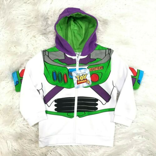 """DISNEY TOY STORY 4 BUZZ LIGHTYEAR HOODIE WITH WINGS /""""NWT/"""" TOY STORY HOODIE"""