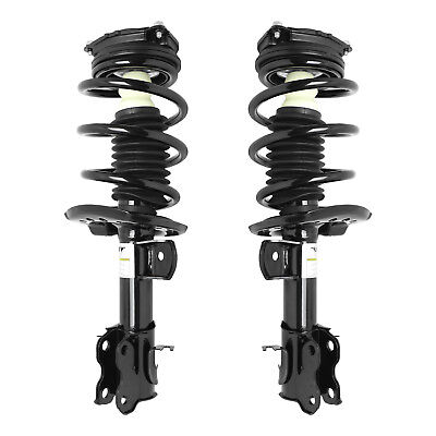 Unity Front Loaded Strut Spring Assem.Pair Fits 2015-2016 Chevy City Express