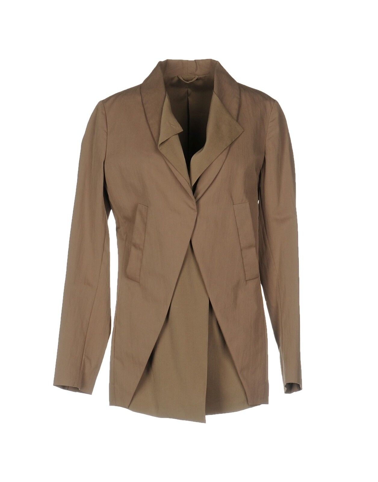 2650+NEW Brunello Cucinelli Marrón Taupe Chaqueta  Sz se 46 US 8-10  Más asequible