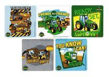 15 John Deere Farm Tractor Stickers Kid Party Goody Loot Bag Filler Favor Supply