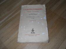 LA DIVINA COMMEDIA - PARADISO - DANTE ALIGHIERI - ZANICHELLI ED. 1956