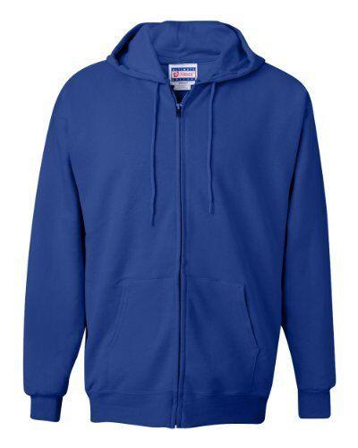 Hanes Men/'s Full Zip Ultimate Heavyweight Fleece Hoodie Sweatshirt