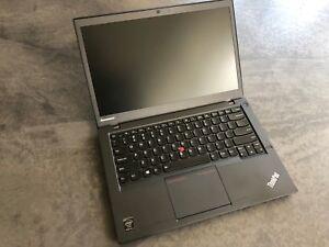 Lenovo THINKPAD T440s Core i5 4300U 8GB RAM 500GB HDD 2 Accus