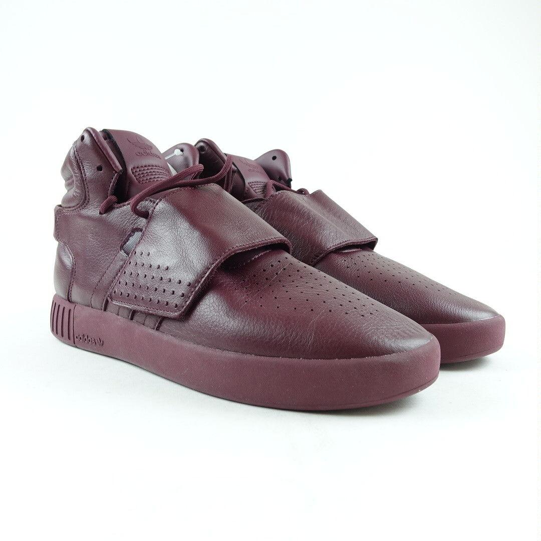 65e64cba19c48e Adidas Men s Tubular Invader Strap shoes Maroon 9 BW0873 Size ...