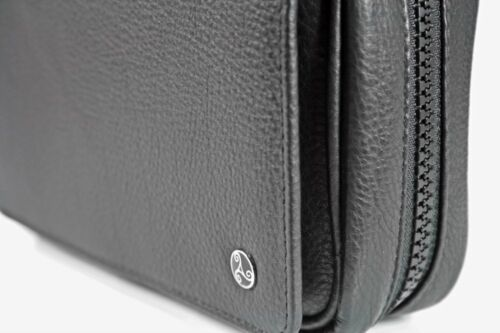 PB2 Rattray/'s Pfeifentasche Black Knight Pipe Bag 2 3 Pfeifen Vordertasche