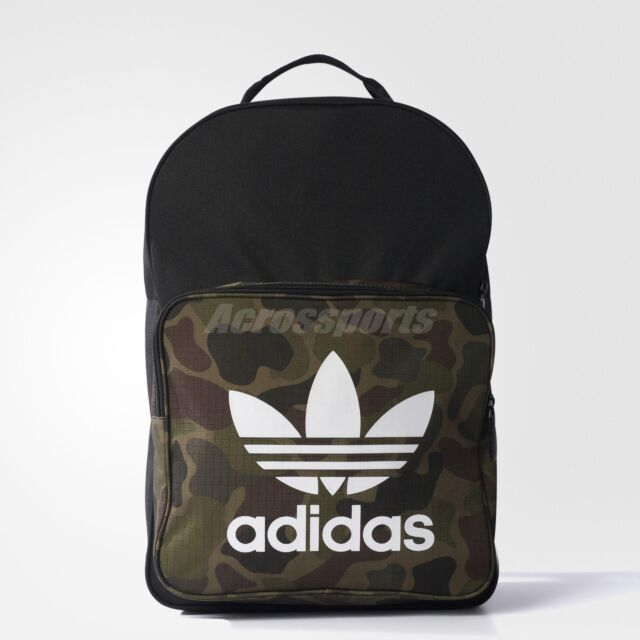 88dc9a1785 adidas Originals Classic Backpack School Rucksack Day Camouflage ...