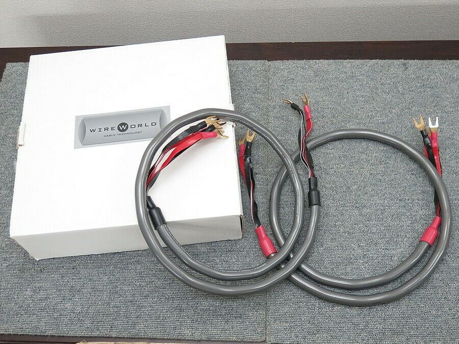 WIREWORLD EQS6(1.5m) Speaker cable used